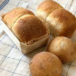 胡桃パンとミニ食パン